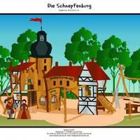 Spielplatz Schnepfenburg Entwurf