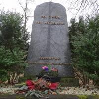 Gedenkstein im Rathenaupark ©Alina Sauer