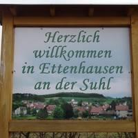 Willkommen in Ettenhausen an der Suhl ©Alina Sauer
