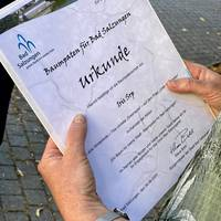 Baumpaten-Urkunde