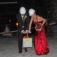 Hochzeit in der Kristallgrotte im Erlebnisbergwerk Merkers