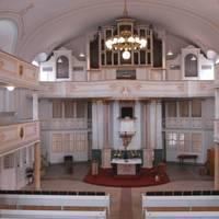 Ev. Stadtkirche Innenaufnahme