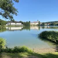 Burgsee im Sommer