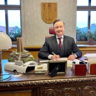 Bürgermeister Klaus Bohl Dezember 2020 [(c) Andrea Dominik]