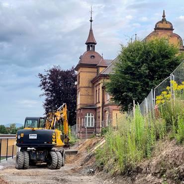 Bauarbeiten Burgseeschule 07-2021 [(c) Andrea Dominik]